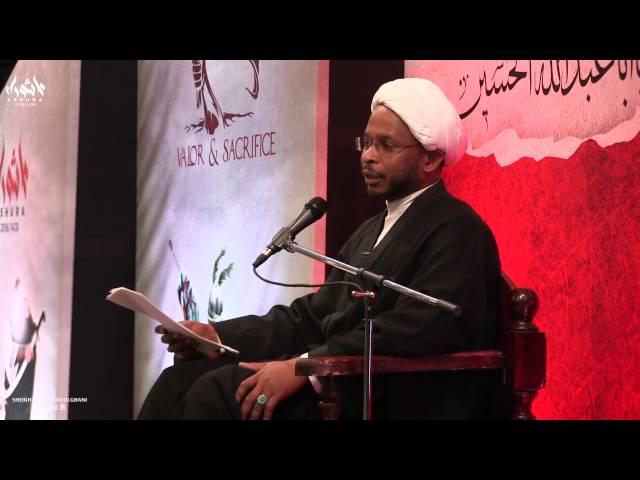 [8] Muharram 2016/1438 - Sheikh Usama Abdulghani - Dearborn - English